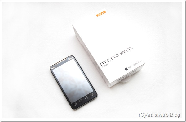 au HTC EVO ISW11HT-1