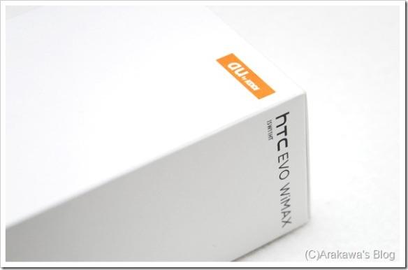 au HTC EVO ISW11HT